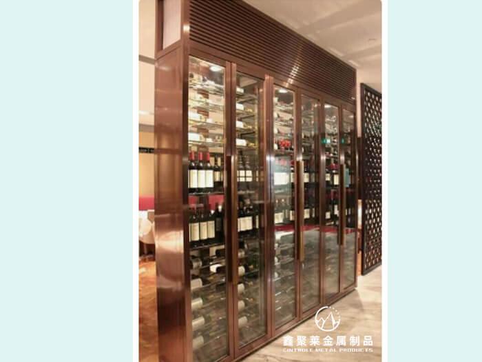 不锈钢恒温酒柜、酒架