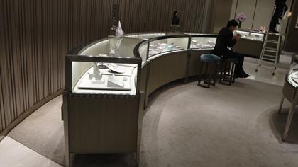 不锈钢珠宝柜